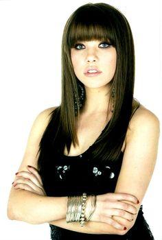 Carly Rae Jepsen, I looooooove her bangs<3<3