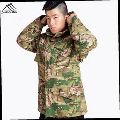 49.92$  Buy here - http://ali806.worldwells.pw/go.php?t=32686136854 - Waterproof tactical military Windbreaker softshell jacket men hunting clothes trekking Camping Outdoor Rain jacket Army Coats