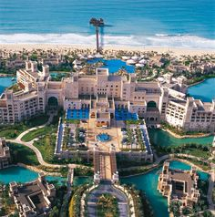 Dubai is another dream destination of mine.  Although my husband said he'd never go there so I don't know who I'd go with.