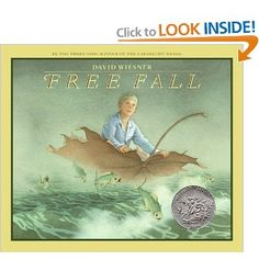 Free Fall By David Wiesner. This is a Wordless book. It is also a Caldecott… Wordless Picture Books, Wordless Book, Children's Picture Books, American Library Association, Fallen Book, And So It Begins, Library Services, Mentor Texts, Writing Workshop
