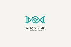 Dna Eye Logo @creativework247