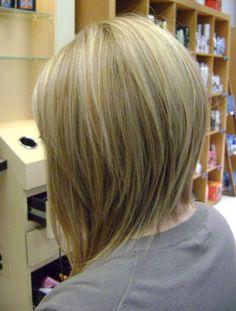 Medium Bob Hairstyles Back View Wallpaper Inverted Bob Hair On ...