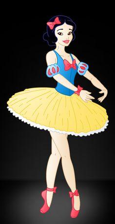 Disney Ballerina: Snow White by Willemijn1991.deviantart.com