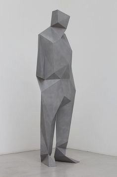 Xavier Veilhan, concrete sculpture of Richard Rogers