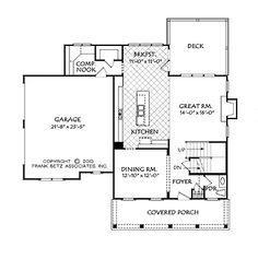 <3 <3 <3 Floor Plans AFLFPW75274 - 2 Story Country Home with 4 Bedrooms, 2 Bathrooms and 2,343 total Square Feet