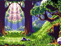 Get Nostalgic with These Pixelated Video Game Scenes trendhunter.com