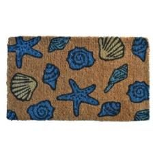 Sea Shell Beach Doormat