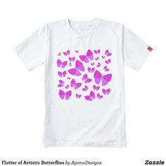 Upgrade your style with Butterfly t-shirts from Zazzle! Browse through different shirt styles and colors. Search for your new favorite t-shirt today! Shirt Style, Butterflies, Your Style, Shirt Designs, Artist, Mens Tops, T Shirt, Color, Fashion