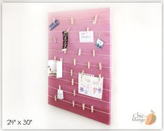 Bulletin Board Gift For Girl Wall Art Teen Girls by ChicMango
