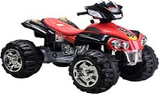 Battery powered ATV is all the fun! This realistic 4 wheeler was made just for toddlers ages 3 years and up and can handle a maximum of two riders with a maximum weight of 120 pounds. Nothing is holdi