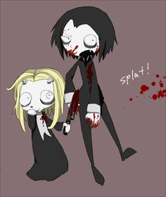 Lenore the Cute Little Dead Girl- Lenore and Ragamuffin