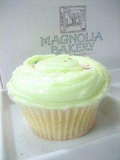 Vanilla cupcake recipe from Magnolia Bakery