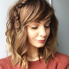 Tresse épi et Wavy Hair  www.lesmercredisdedaphne.com