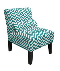 Skyline Furniture Upholstered Armless Accent Chair... For Bedroom