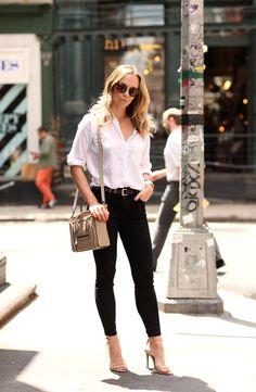 Friday (and a new bag!) via BrooklynBlonde.com / @brooklynblonde Button Down: Current/Elliott | Denim: Current/Elliott | Shoes: Schutz | Bag: Celine Nano | Sunglasses: Wonderland Stateline Friday, May 29, 2015