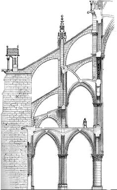 Flying Buttress Diagram
