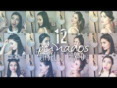 ¡12 PEINADOS PARA CABELLO CORTO! | Paulettee - YouTube