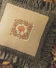 Autumn Cross Stitch Patterns - Thanksgiving Halloween