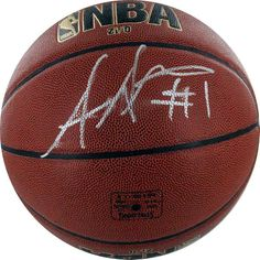 autographed @Steiner Sports basketball | @RedEnvelope | gifts for him
