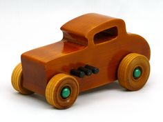 Handmade Handcrafted Wooden Toy Car, Hot Rod Freaky Ford, 32 Deuce Coupe, Pine, Amber Shellac, Metallic Green Hubs, Black Pipes, Little Deuce Coupe, 32 Ford Deuce Coupe, Little Deuce Coupe, Hot Rod, Race Car, Street Rod, Dragster, Speedster, Wood Toy, Toys For Boys, Toys For Girls, Toys For Kids, Vehicles, Odin's Toy Factory, Tallahassee, Florida, #odinstoyfactoy #handmade #handcrafted #woodentoys #toys #tallahassee #florida #hotrods #cars #toys #ford #kids #children #boys #girls…