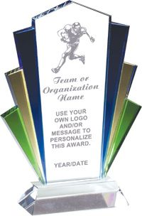 Colorful Glass Marquee Award