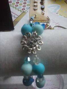 Frozen inspired bracelet of my own creation