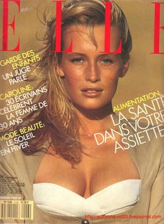 Estelle Lefébure, Elle, by Bill King