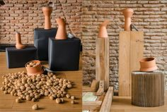 BENJAMIN HUBERT - DISEÑADOR Pots // Interior Styling: Maria Cristina Alipaz y Ana Merino// photography: Manuel Prats