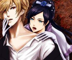 Tags: Anime, Diva, Blood+, Solomon Goldsmith, Blue Flower, White Gloves