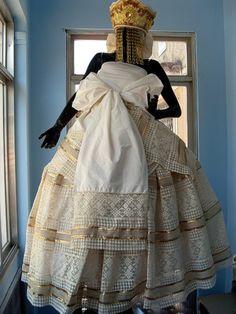 trajes de santo | ORIXÁS, UMBANDA E CANDOMBLÉ: ROUPAS DE SANTO - CANDOMBLÉ -II