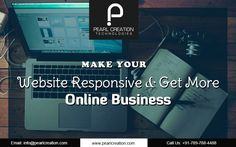 Responsive website design always improves user experience and engagement.  Develop your business website with responsive format by the industry experts at Pearl Creation Technologies. Visit us for more details.  #responsive #web #design #website #designers #Kanpur #india