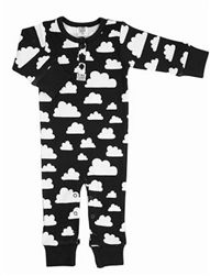 Moln Cloud Pattern in Black by Gunila Axen for Farg Form, Sweden. Toddler Boy Fashion, Toddler Boys, Kids Fashion, Form Design, Overall Kind, Black And White Clouds, Pink Baby Blanket, Turquoise Pillows, Cotton Clouds