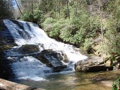 Cathey's Creek Falls   In Pisgah Forest  NC