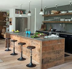 Beautiful Rustic Elegant Master Bathroom with a sliding Barn Door to separate the bathroom from the & Master Suite. Description from pinterest.com. I searched for this on bing.com/images