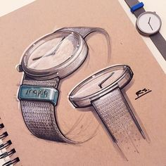 Watch drawing, rendering art, technical drawing, design thinking, danish de Watch Drawing, Rendering Art, Industrial Design Sketch, Sketch Markers, Cool Sketches, Technical Drawing, Sketch Design, Photo Instagram, Design Thinking