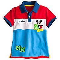 Mickey Mouse Polo Shirt for Boys - Personalizable Disney Mickey Mouse a4308a4de07f