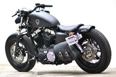 Love it! | Studio Motor Harley-Davidson Sportster Forty-Eight. I have no idea what that means, but this is still cool. #harleydavidsonsporster