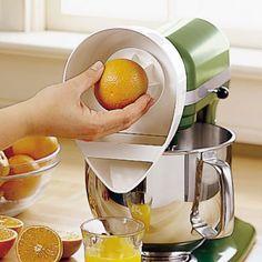 Hot or Not? KitchenAid Citrus Juicer Attachment