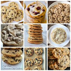 Top 10 Chocolate Chip Cookies! {RecipePorn} – The Baking ChocolaTess