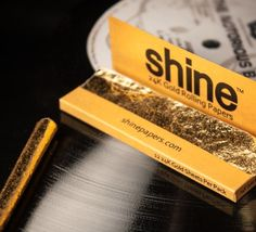 Shine 24k Gold Rolling Papers Golden joints + Giant bag of skittles = Awesome Gift!!! 420 weed marijuana