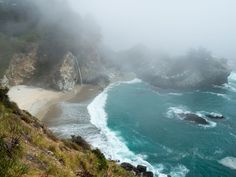 Waterfall Image, California