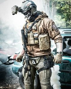 ・・・ Good morning, I hope you all have a good start in to the new week. Cant wait for the next weekend to play again on… Special Forces Gear, Military Special Forces, Military Gear, Military Weapons, Ghost Soldiers, Tactical Armor, Airsoft Gear, Combat Gear, Military Pictures