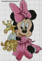BABY MINNIE PUNTO CROCE by syra1974