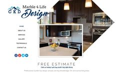 Marble 4 Life Design is located in Woodbridge, ON, servicing the GTA and surrounding areas. They specialize in kitchen counter tops, as well as manufacturing top quality vanities in granite, quartz, onyx, and many more! Their goal has always been to build kitchens of the best price and quality, in order to satisfy their client's highest expectations.  Make your appointment now and visit their website today that was designed by Silver Connect Web Design. - http://www.marble4lifedesign.ca…