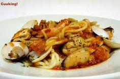 Cuuking!: Spaghetti frutti di mare