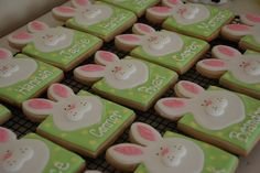Easter cookie place cards - Google Search