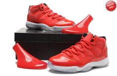 9afdfd8caac0 Where To Buy Cheap Red Suede 378037-623 AIR JORDAN 11 Red White Mens-Womens