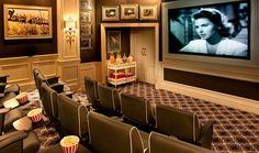 Cinema atThe Oyster Box, KwaZulu-Natal, South Africa