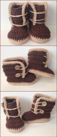 free crochet 6 month baby high ankle shoes