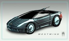 Shadowrun: Eurocar Westwind - Quicksketch by KARGAIN.deviantart.com on @deviantART